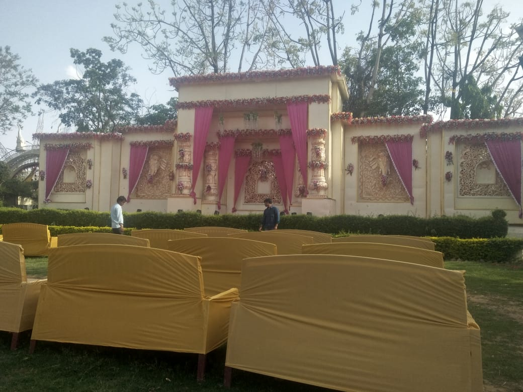 Golden Flower Decoration , Golden Flower Decorators In Jaipur