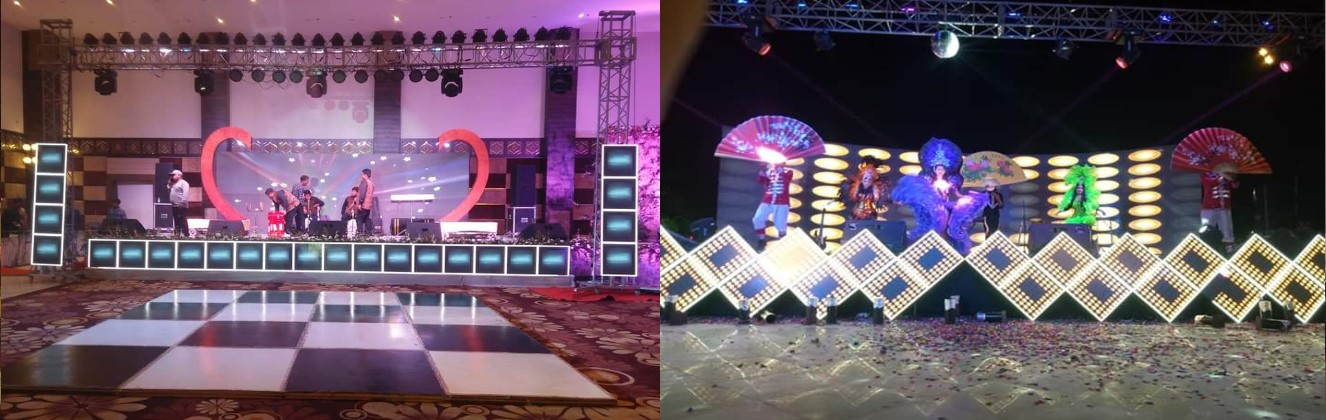 Rk Sound & Light Banner