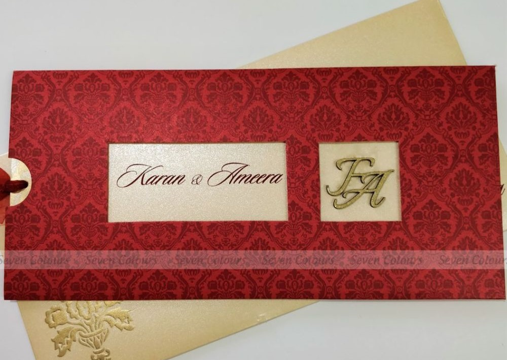 Indian Wedding Card Banner